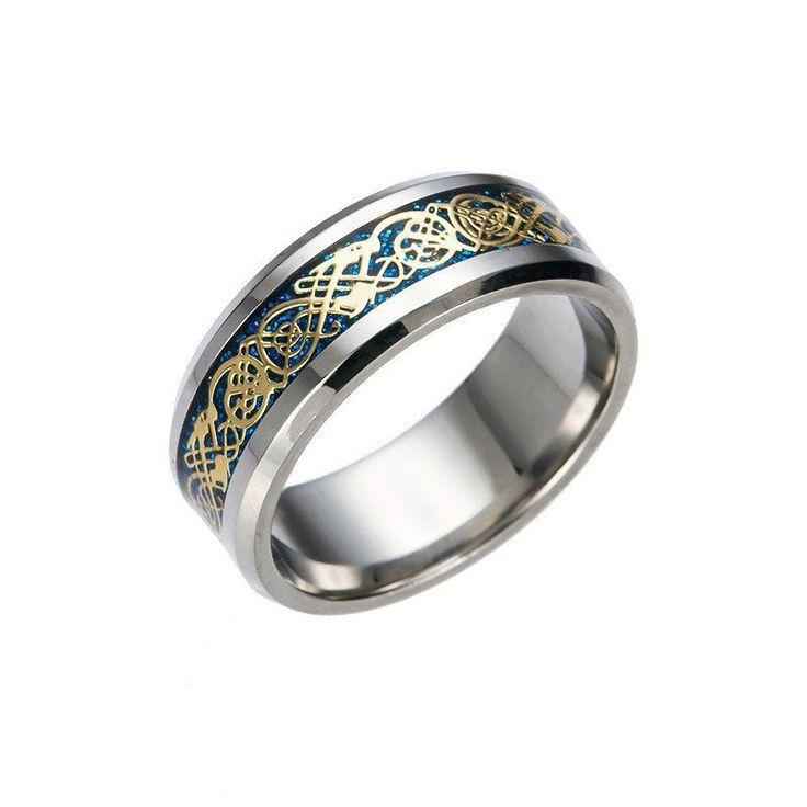Celtic Dragon Ring