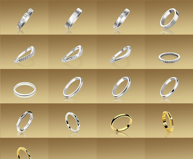 ... on Pinterest  Van cleef arpels, Trinity ring and Gold eternity rings