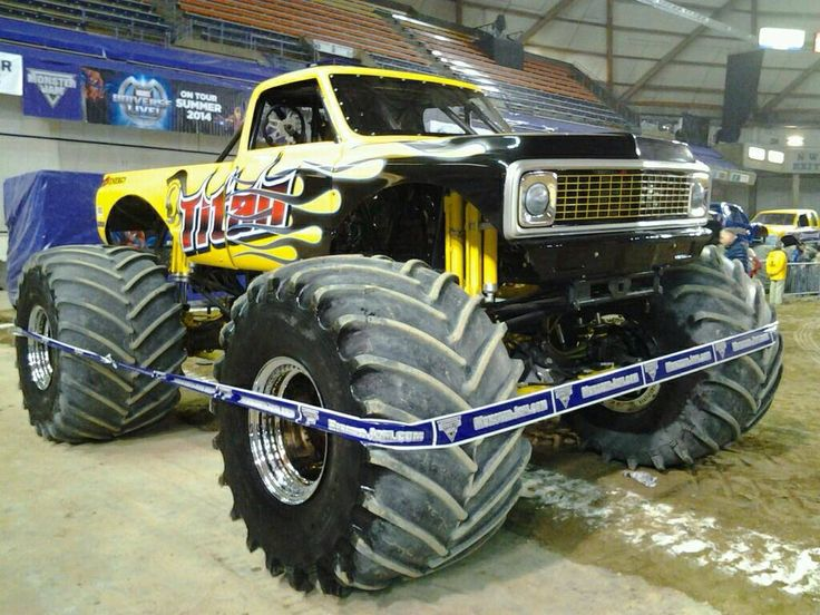 Best Big Monster Trucks Images On Pinterest Big Monster