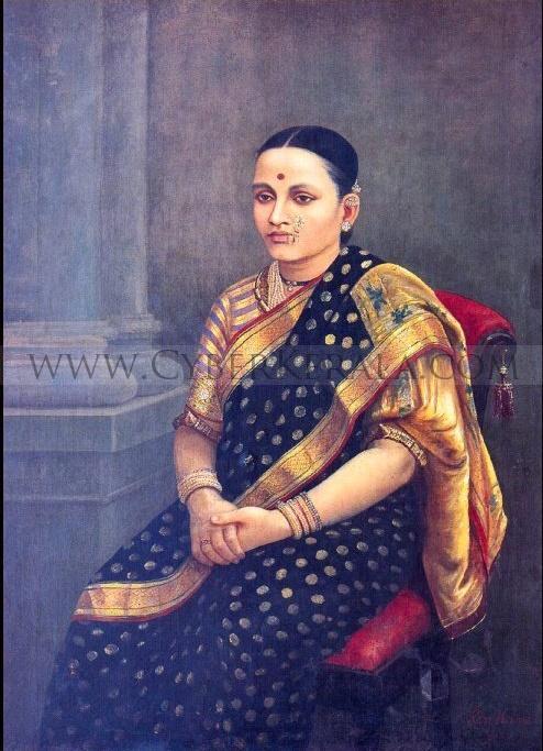 Raja Ravi Verma Oil Painting