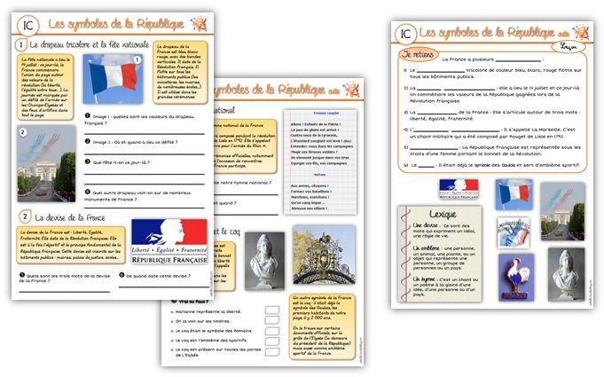 Les symboles de la République C3.