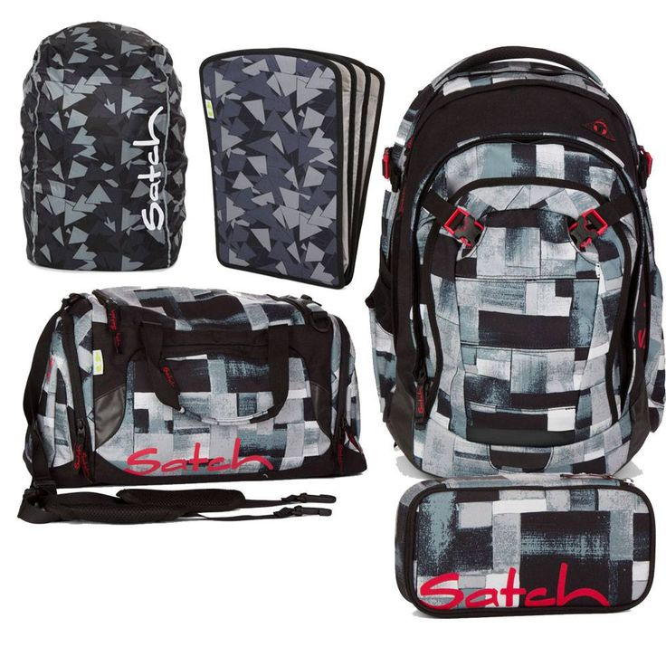 Satch Match Schulrucksack Set 5tlg City Fitty