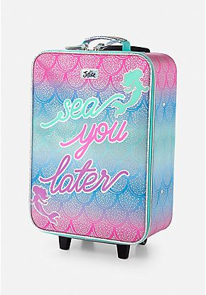 d98430a2bf Mermaid Suitcase