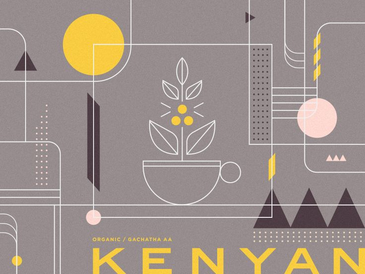 Kenyan Coffee Blend by Steve Wolf
