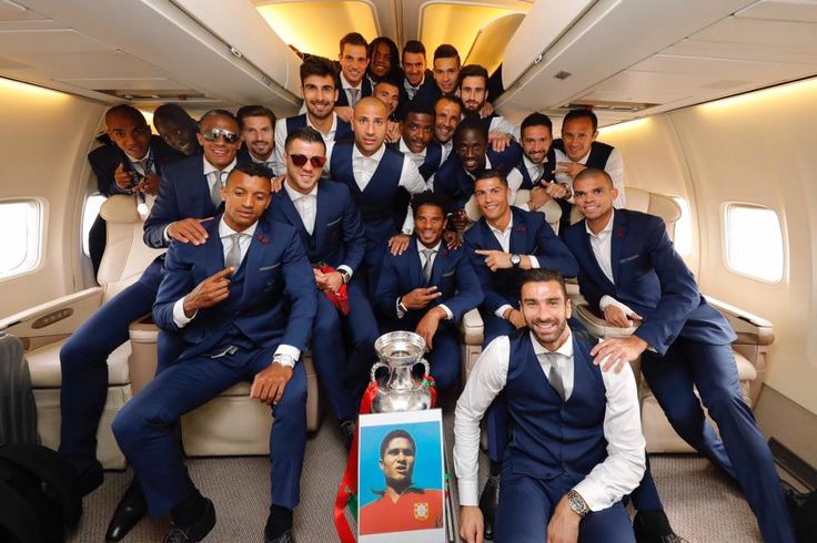 Portugal paid tribute to legendary forward Eusebio after Euro win