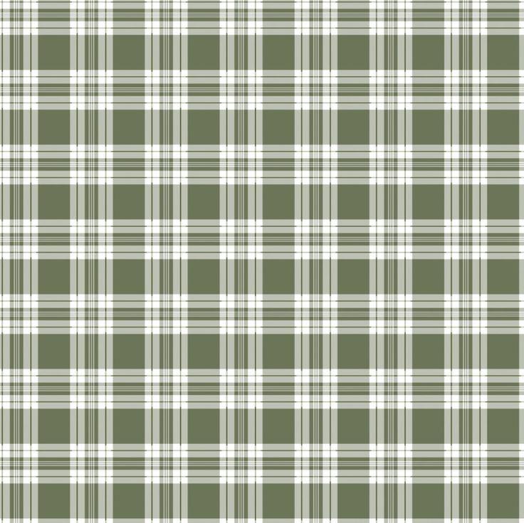 """Green tartan"", grafica di TheColorSoup    #stripes #colors #graphics #design"