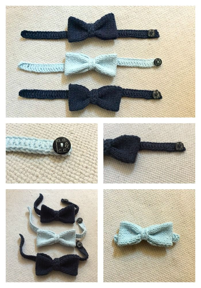Crochet Baby elegant  Bow tie. Uncinetto papillon farfallino bambino bebe