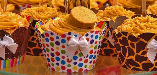 CUPCAKE DE PAÇOCA COM DOCE DE LEITE | Tortas e bolos > Cupcakes | Receitas…