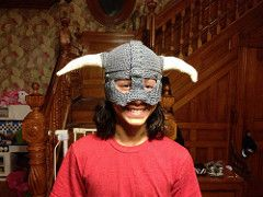 Ravelry: Carry On and Fus Ro Dah! Skyrim Helmet pattern by Patrick Rodriguez