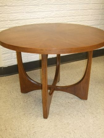 Mid Century Brasilia cocktail table by Broyhill