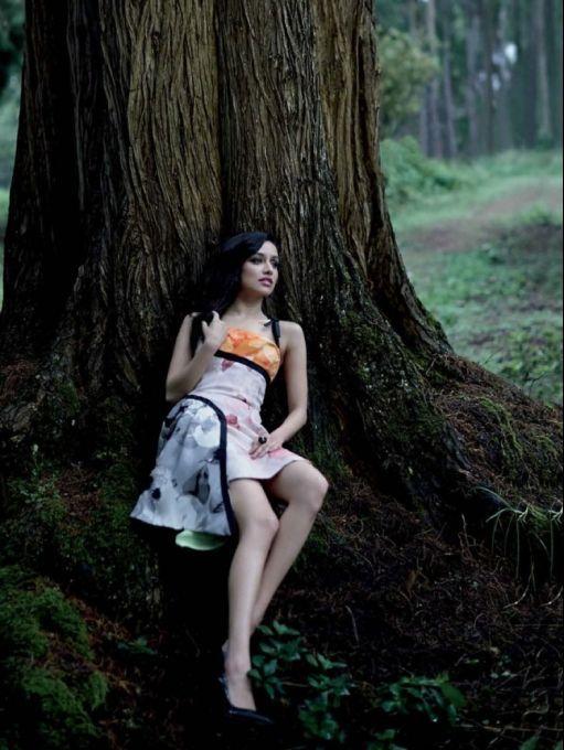 Shraddha Kapoor PhotoShoot for GRAZIA magazine September 2013. #Bollywood #Fashion #Style: