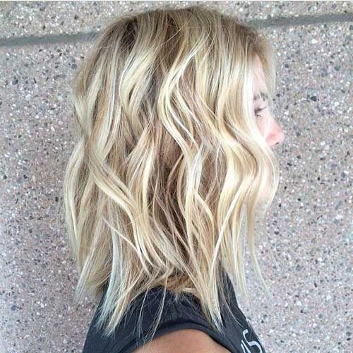 20+ Long Blonde Bob | Bob Hairstyles 2015 - Short Hairstyles for Women