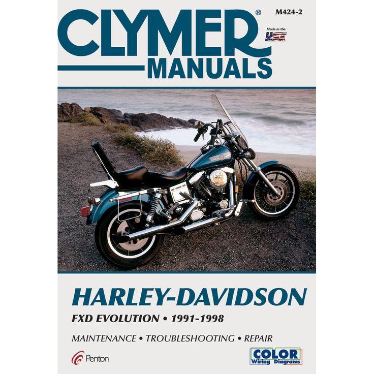 Clymer Harley Davidson Fxd Evolution 1991 1998 Boat Parts For Less Harley Davidson Harley Dyna Harley