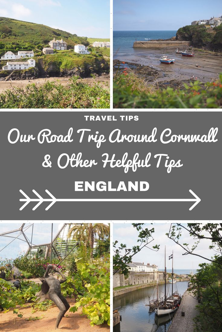 England Travel Inspiration - Our Road Trip Around Cornwall visiting my bucket list destinations for fans of Doc Martin, Poldark and Garden Lovers. There are so many beautiful places to visit in Cornwall like Port Isaac and Charlestown which makes it hard to choose just a few spots to visit for a long weekend. Pop on over to read my Cornwall travel tips and a great little B&B in a nifty location for road trips.