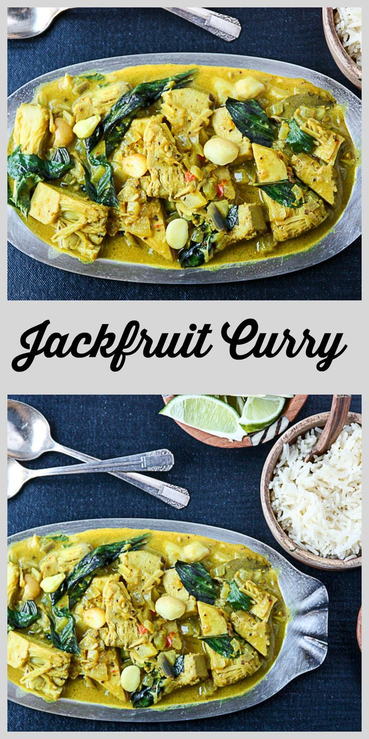 Have you tried trendy jackfruit? It's a healthy alternative for meat in savory dishes, like this delicious Jackfruit Curry.