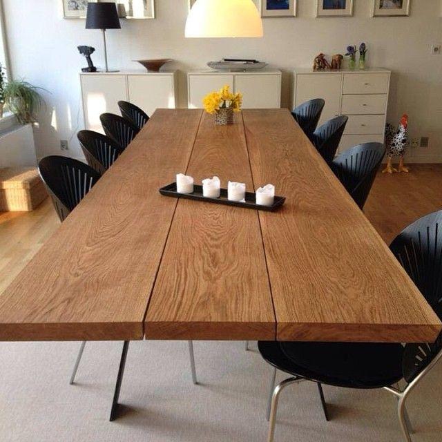 #ShareIG Plankebord i eg fra www.woodstyle.dk#plankeborde#plankebord#spiseborde