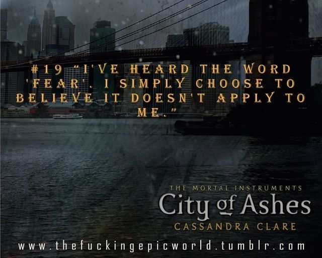 city of ashes characters - photo #25