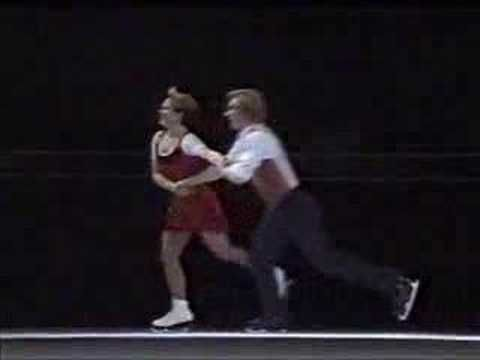 "▶ Jayne Torvill and Christopher Dean - ""Cecilia"""