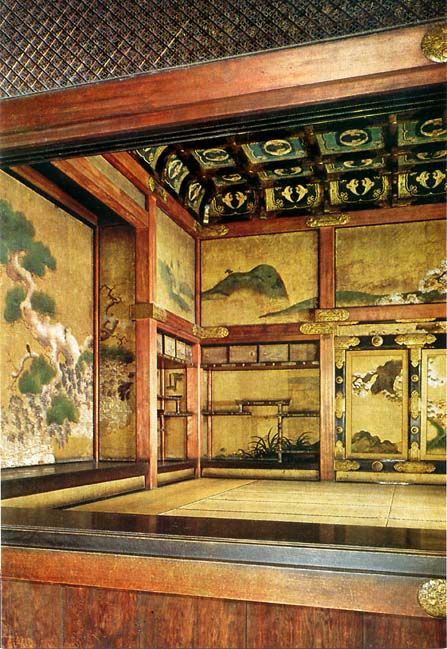 Photo Source: Nijo-jo Castle 	  Audience Chamber    Ninomaru Palace  Nijo-jo, Kyoto     Ninomaru Palace  Nijo-jo, Kyoto