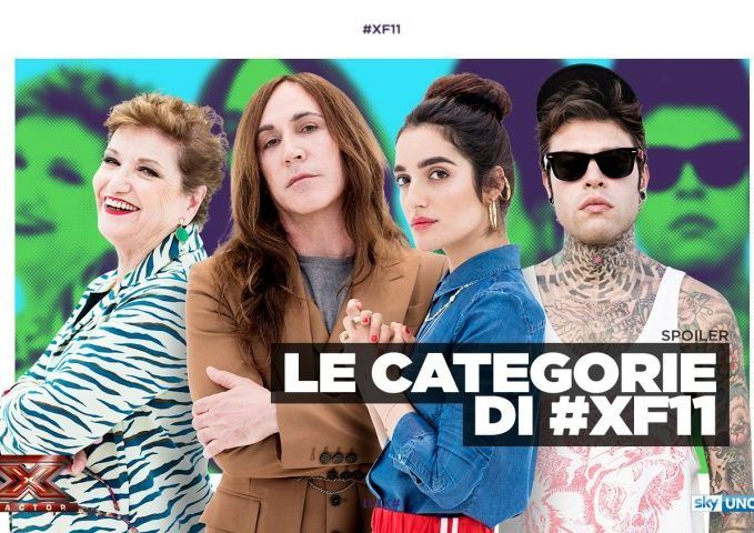 X Factor 2017 Le Categorie - Le categorie di XFactor11: scopri le categorie assegnate a Manuel Agnelli, Mara Maionchi, Fedez e Levante. #XF11 a Settembre su Sky Uno