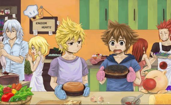 roxas and kairi | ... » Photos » Kingdom Hearts » axel,kairi,sora,roxas,naminé et riku