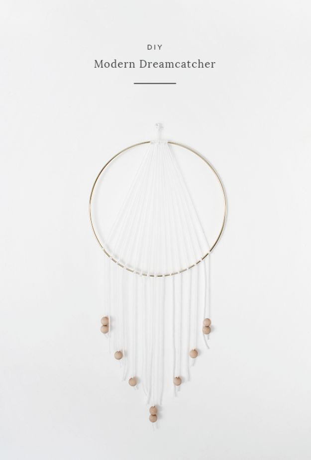 DIY Teen Room Decor Ideas for Girls | DIY Modern Dreamcatcher | Cool Bedroom Decor, Wall Art & Signs, Crafts, Bedding, Fun Do It Yourself Projects and Room Ideas for Small Spaces http://diyprojectsforteens.com/diy-teen-bedroom-ideas-girls
