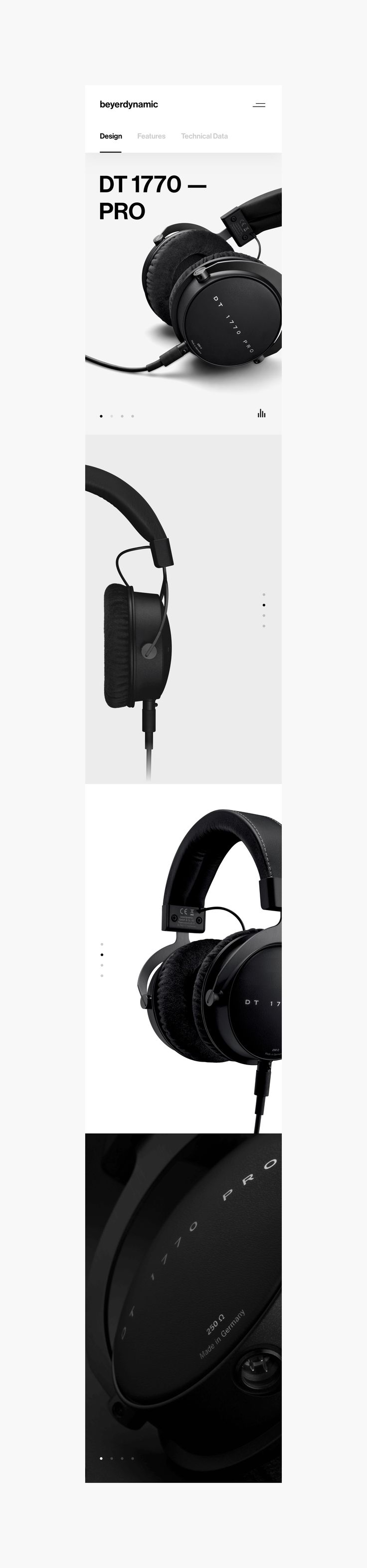 Beyerdynamic // BRDNMC on Behance