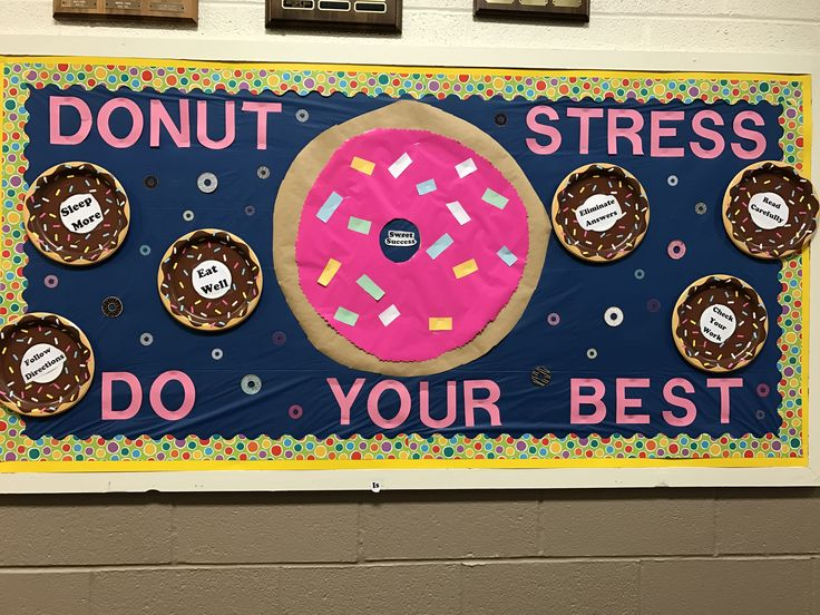 State test ready bulletin board CP
