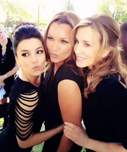 Eva, Vanessa and Felicity