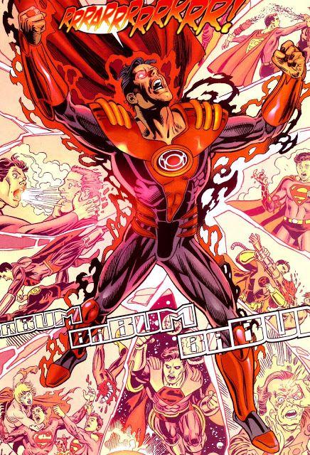 SUPERBOY-PRIME RED LANTERN  Provocado por el anillo negro