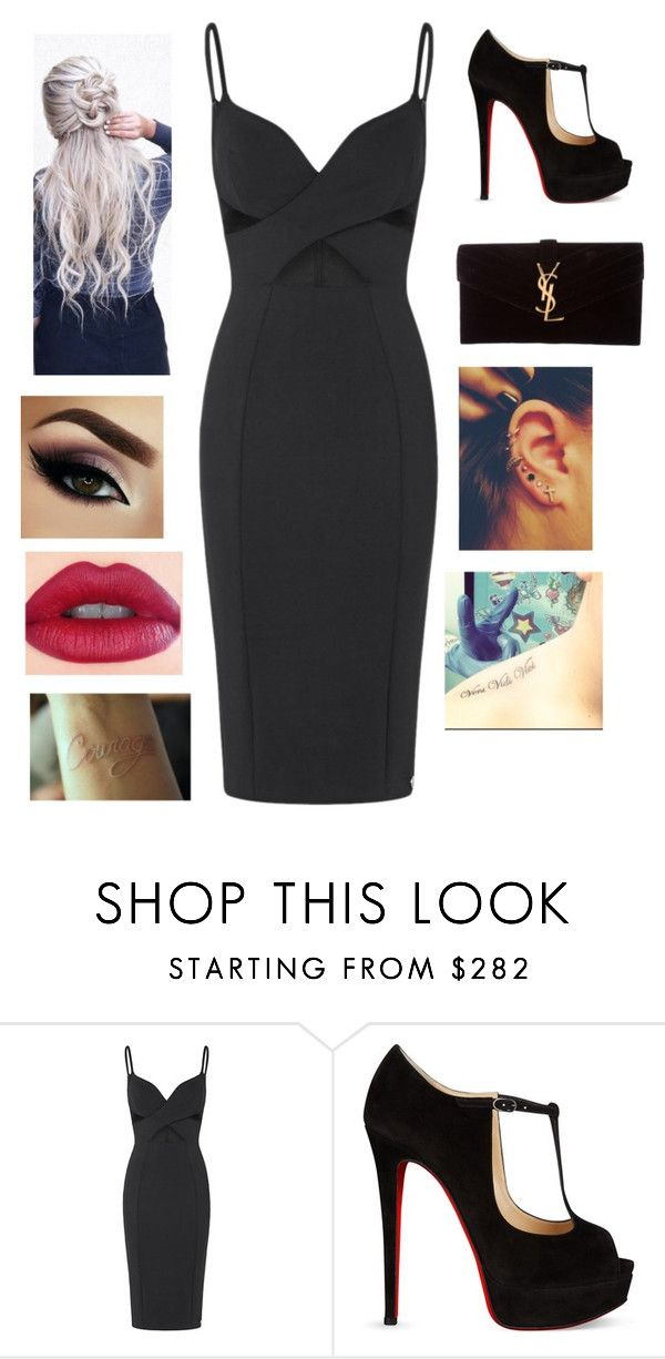 """""""Untitled #229"""" by jaid0131 ❤ liked on Polyvore featuring Christian Louboutin and Yves Saint Laurent"""