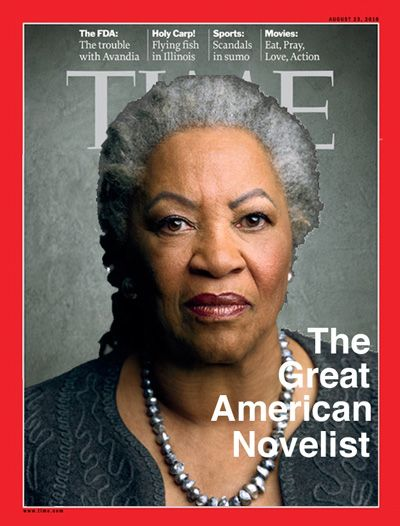 Welcome to Toni Morrison Day! May 8, 2012. I have never read any of her books. I should be ashamed.......