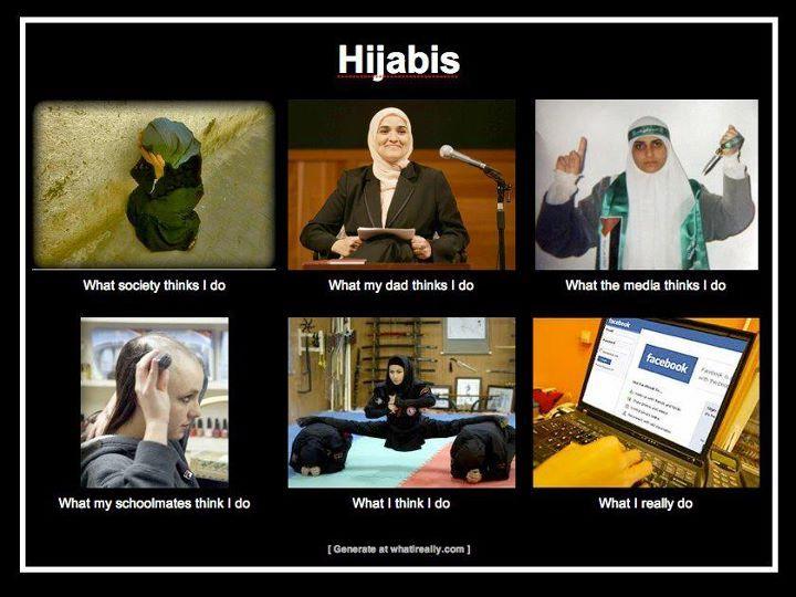 Meme- Hijabis- hijab, Islam, Muslim women.