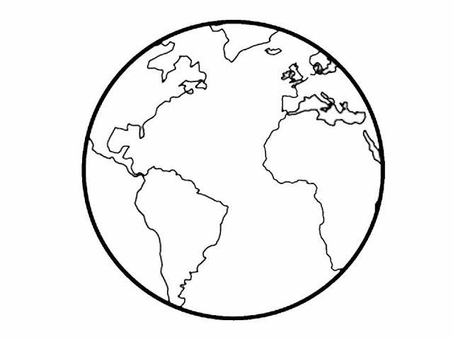 Globo del mundo animado para el Día de la Paz