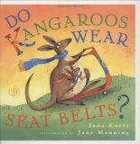 Do Kangaroos Wear Seat Belts? Book for preschool and elementary children with suggested Kangaroo Crafts from www.daniellesplace.com