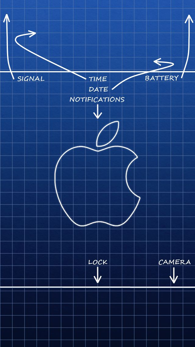 Blueprint Lock Screen Iphone Wallpaper Wallpaper Apple Wallpaper