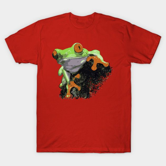 Red Eyed Tree Frog Red Eyed Tree Frog T-Shirt Red Eyed Tree Frog 2387438 0 2387438 0  Red Eyed Tree Frog T-Shirt Design by cowfishdiva  Red Eyed Tree Frog, tree frog, frog, dart frog, poison dart frog,