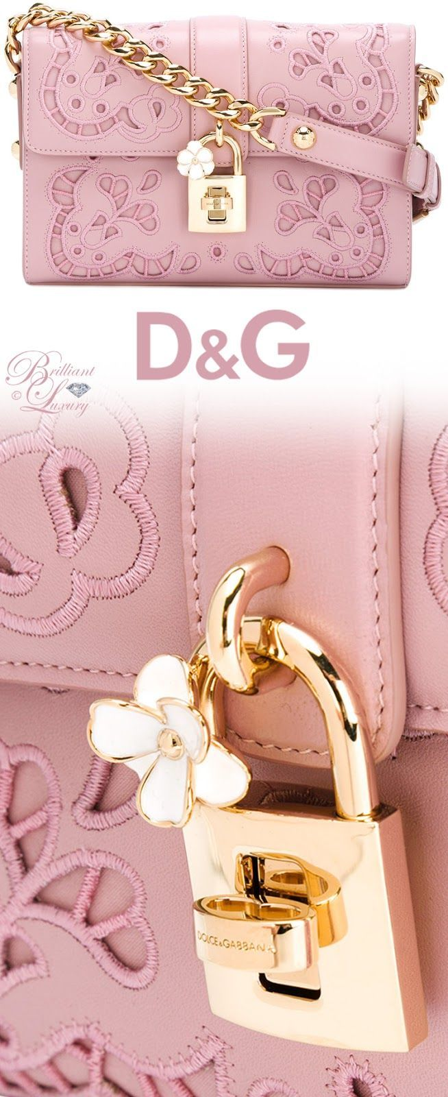 Brilliant Luxury by Emmy DE ♦ Dolce & Gabbana Broderie Cutout Shoulder Bag