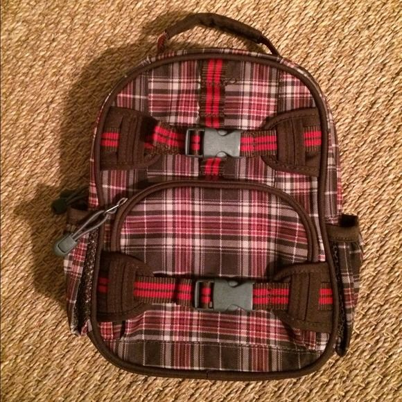 Pottery barn kids mini Mackenzie plaid backpack Gently used, almost new plaid backpack. It's a small backpack, probably best for pre-school/kindergarten. Discounted at pottery barn. pottery barn Other
