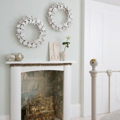 Best 10+ Wallpaper fireplace ideas on Pinterest   Grey feature ...