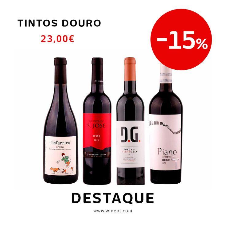 Aproveite as nossas sugestões económicas e prove estes tintos do Douro ! Valem bem a pena