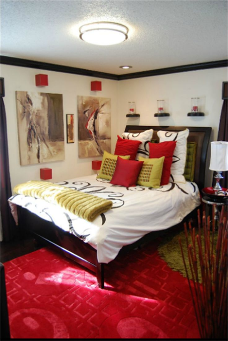 105 best bedroom black red ideas images on pinterest bedroom rustic colorful african bedroom decor with classic wooden brown frame bed furniture design and warm red rug accessories also amazing round shaped chandelier