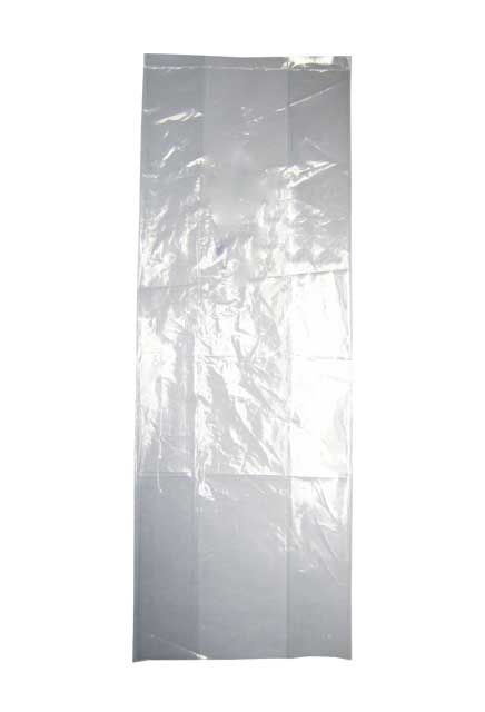 Poly clear roll bag: Poly clear bag