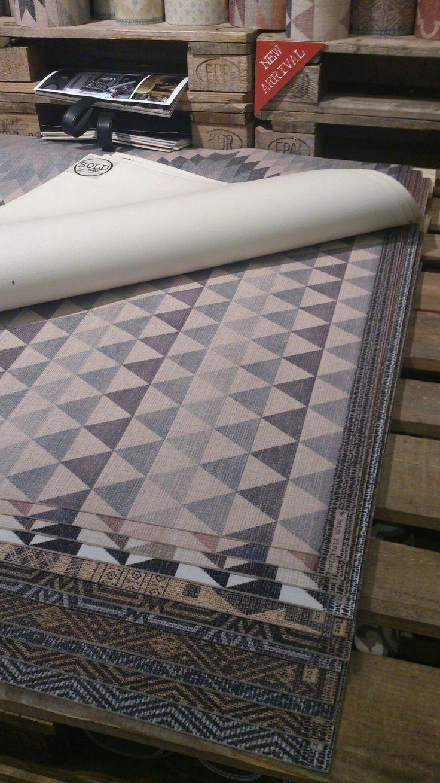 Alfombras vinilo azulejos hidráulicos www.kokodeko.com