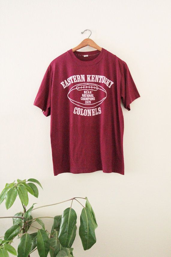 1979 Eastern Kentucky Colonels Tee by ManitouSupply on Etsy