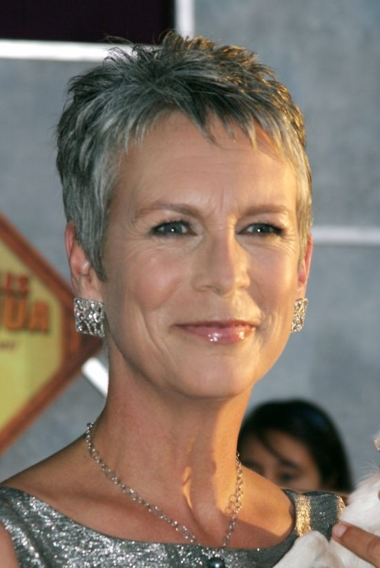 Jamie Lee Curtis - Mature Hairstyle  FOR ALL HAIRSTYLE IDEAS, ADVICE AND INSPIRATION VISIT US WWW.UKHAIRDRESSERS.COM