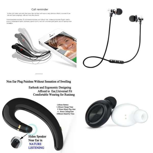 Sceltech Wireless Bluetooth Headset 730 Sports Bluetooth Earphones Headphone With Mic Bass Earphone For Samsung Ip Gaming Headphones Headset Headphone With Mic