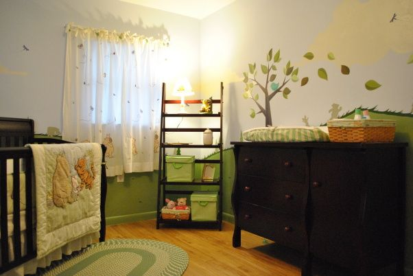 100 Acre Woods  Classic Pooh - Nursery Designs - Decorating Ideas - HGTV Rate My Space