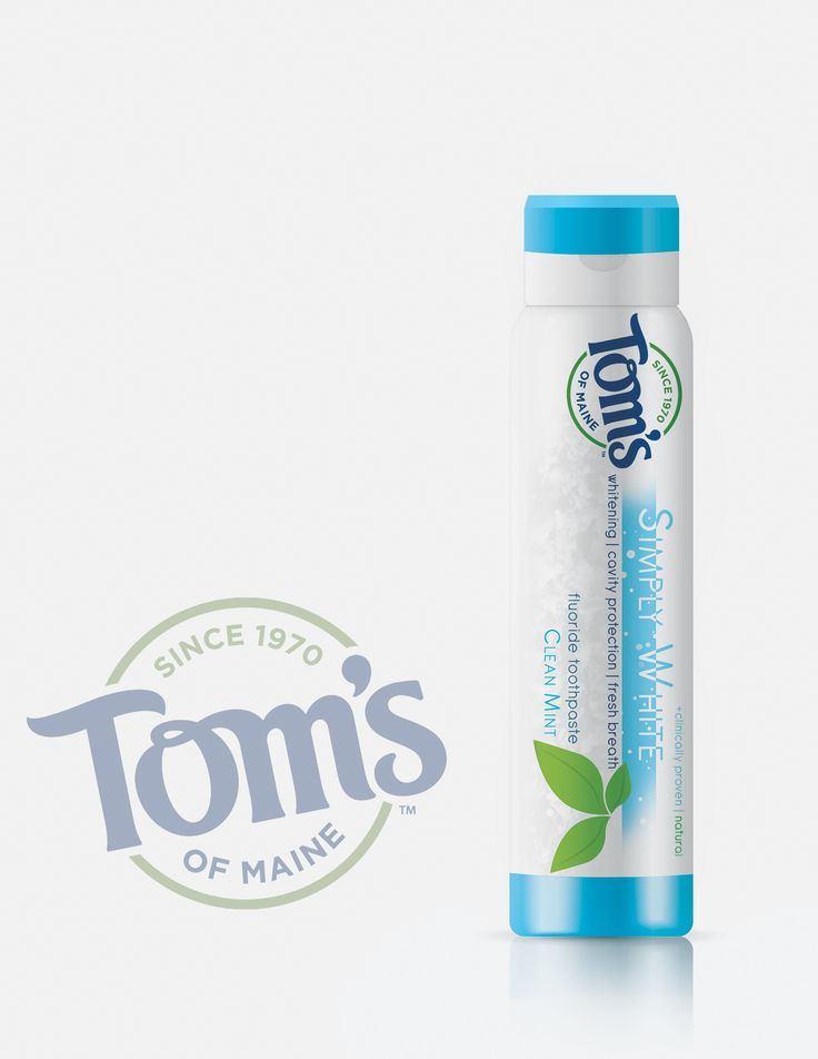 Tom's Toothpaste is a package redesign. You are able to use all of the product by turning the bottom of container. Once turned the paste moves up the container, ensures you get maximum use