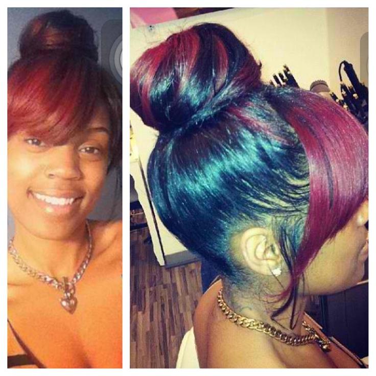 Cute Bun Hairstyles For African American Hair | Hair Color Ideas and ...